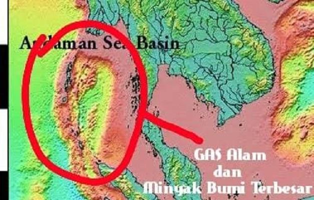 Pengaruh Kekuatan Besar Dilepas Pantai Pulau Sabang dan Laut Andaman