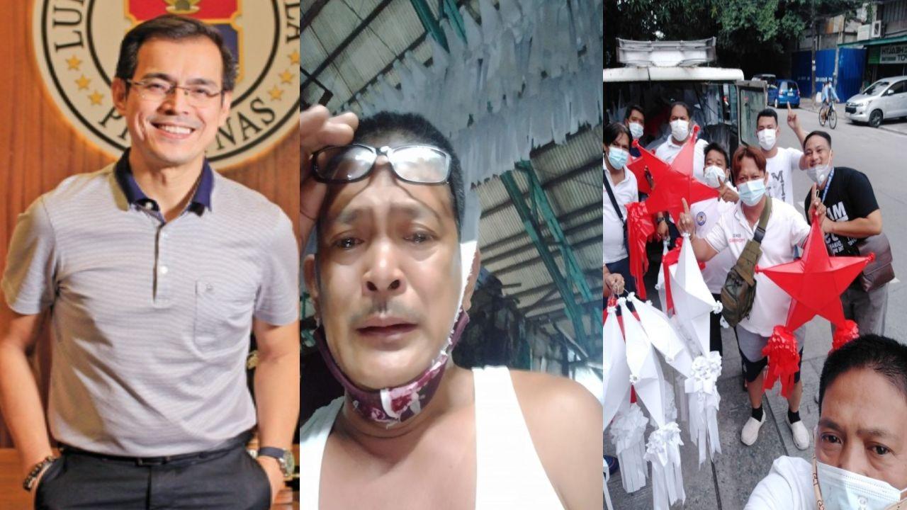 Mayor Isko Moreno, Binili Ang P100,000 Na Order Ng Parol Na Hindi Kinuha Ng Buyer