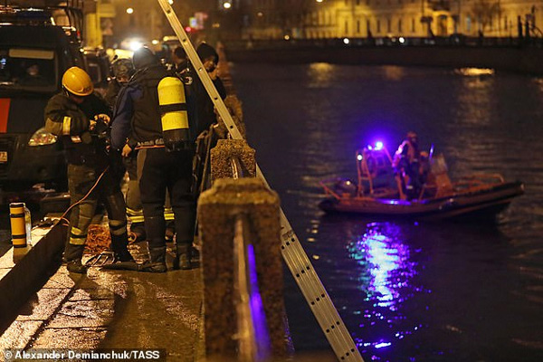 Russian military historian, 63, is dragged from icy river with the severed arms of his 24-year-old 'student lover' in his backpack before her head was found in his flat,News, Russia, Murder, Arrested, Researchers, Police, Report, World, Crime, Criminal Case