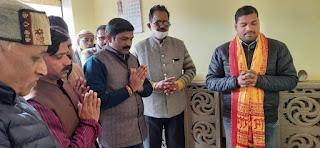 श्री राम जन्मभूमि तीर्थ क्षेत्र समर्पण अभियान कार्यालय का हुआ उद्घाटन    #NayaSaberaNetwork