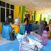 Babinsa Koramil 05/Lubuk Alung Tinjau Pelaksanaan Vaksin Tenaga Pendidik
