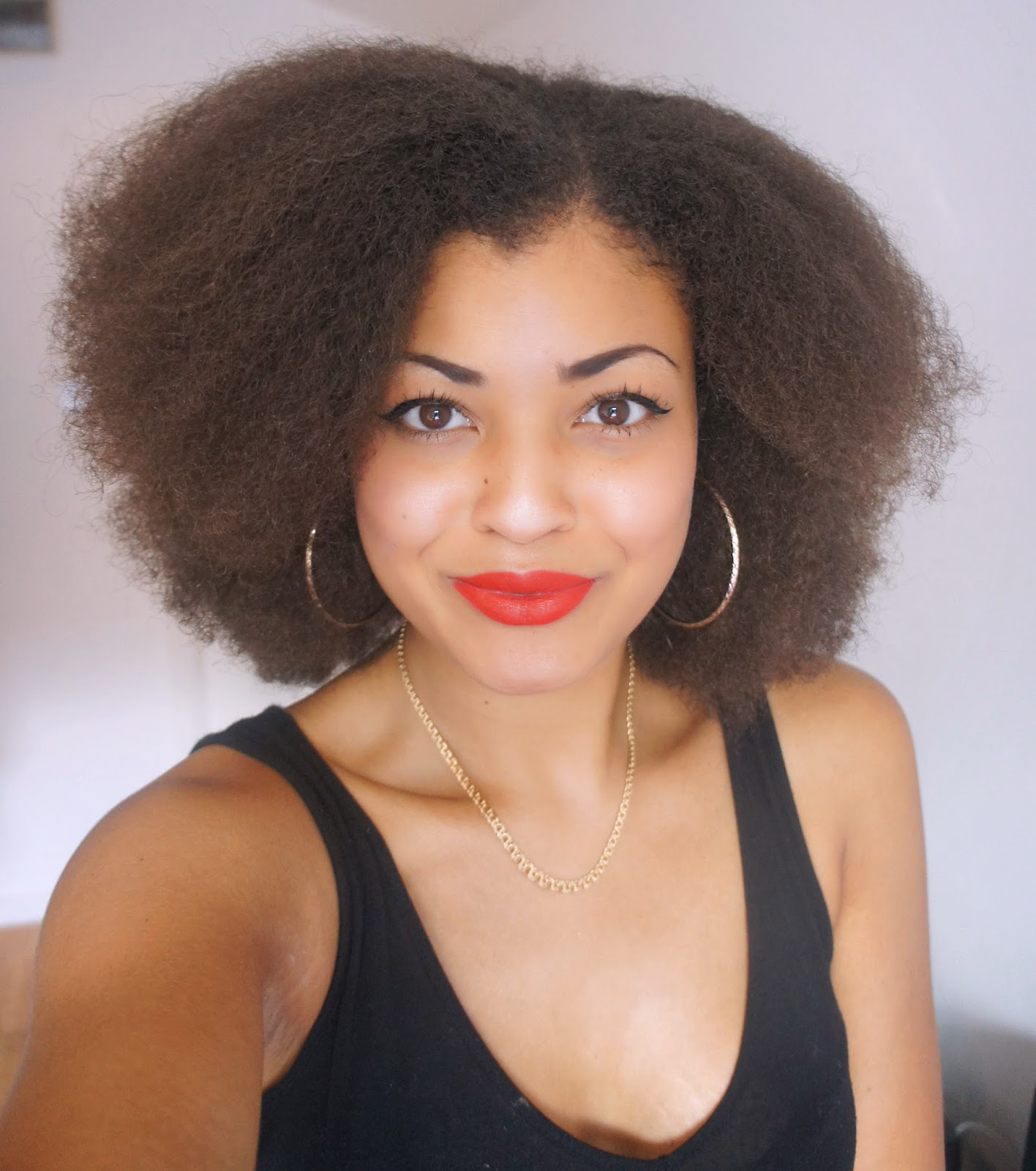 How to stretch/ do a heatless blow out for natural afro hair (3C/4A/4B/4C)