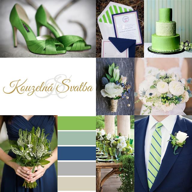 Green Flash - zeleno modrá barevná kombinace