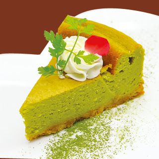 スピルリナ 豆乳チーズケーキ