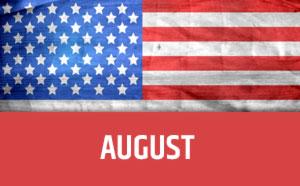 August usa calendar