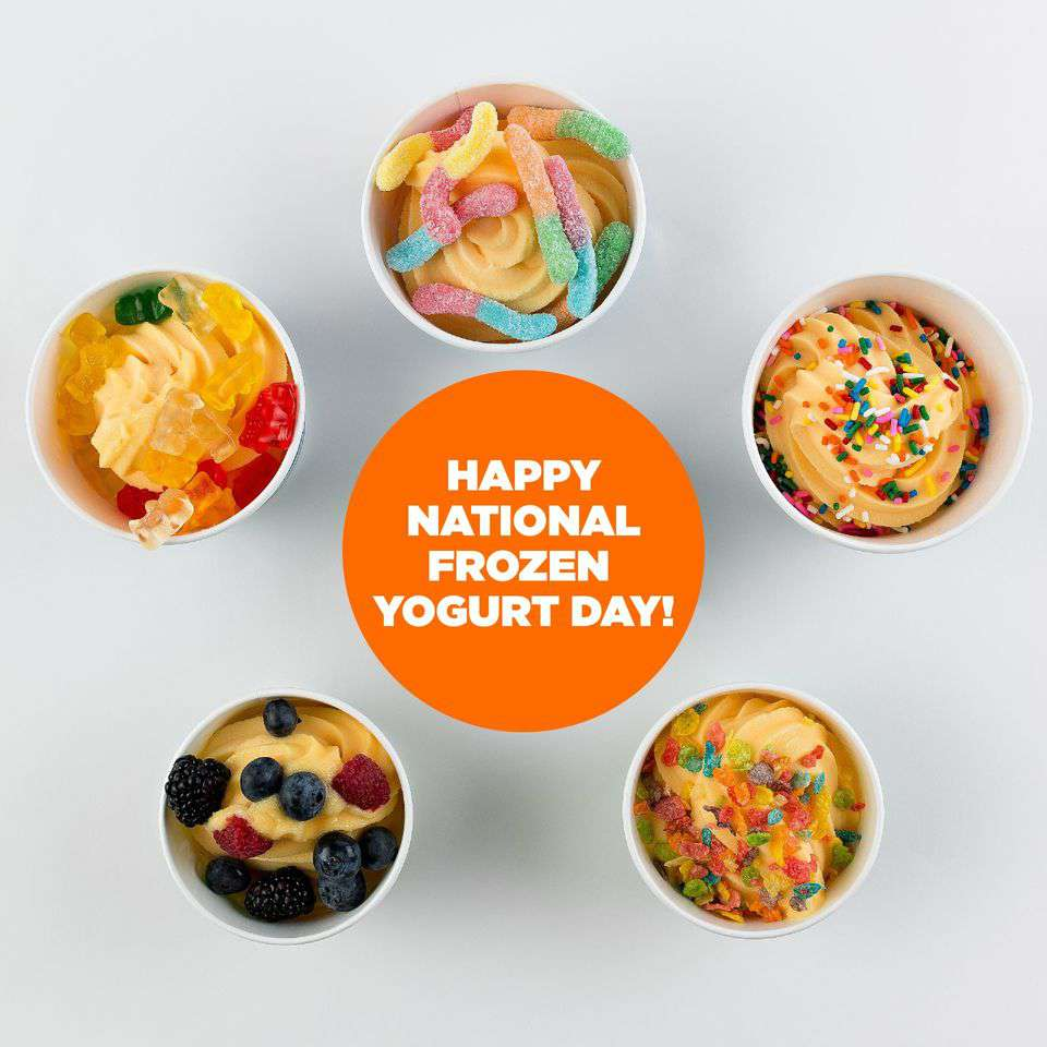 National Frozen Yogurt Day Wishes Pics