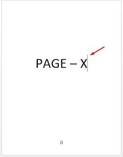 cara membuat halaman di word beda format