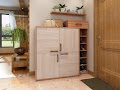 Mẫu tủ giầy làm bằng gỗ đẹp nhất trong năm 2021