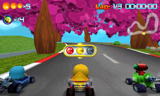 PAC-MAN Kart Rally mod Apk game paling keren dan paling seru