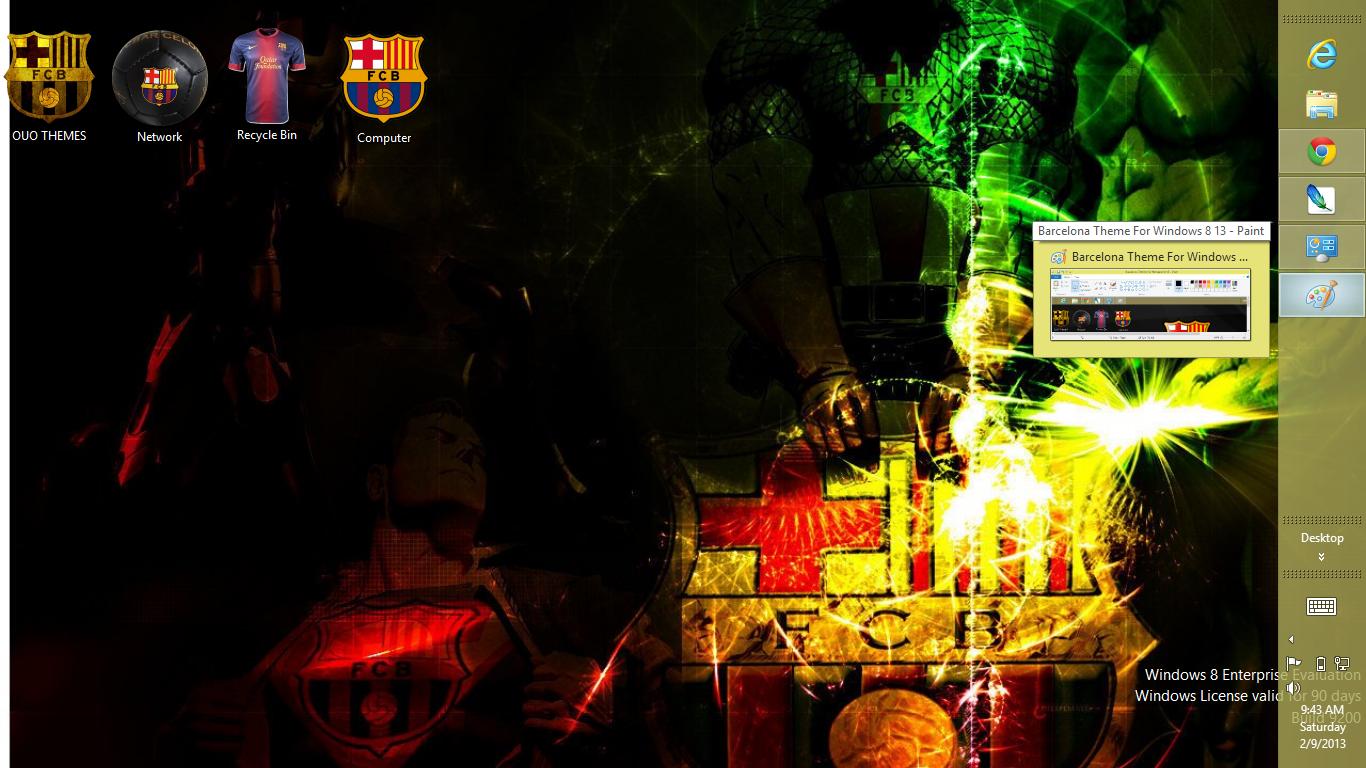 Fc barcelona windows 7 theme free download :: diliroper