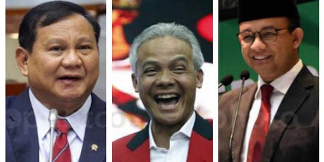 Prabowo Dan Anies Berebut Elektabilitas Di Banjabar, Ganjar Kokoh Di Kandang Banteng