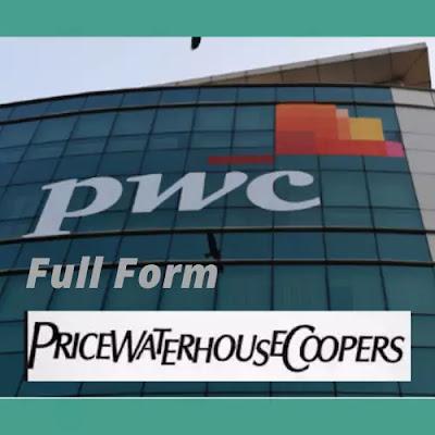 Full Form of PWC Company