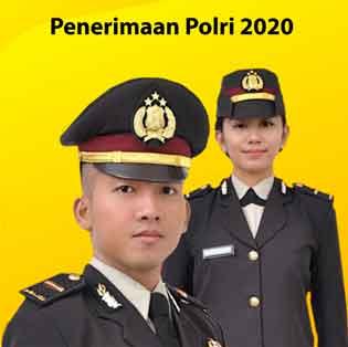 Penerimaan Polri 2020