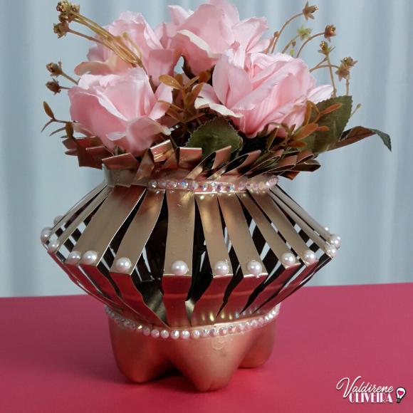 faça esse vaso sem gastar muito