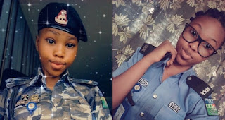 Baby-faced female police officer goes viral on internet (Photos)