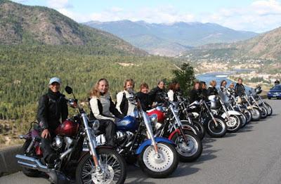 Klub Motor Wanita terbesar