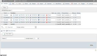 rancangan database aplikasi pengarsipan surat berbasis website