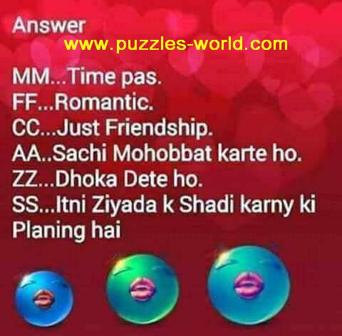 Select any pair of Alphabets answers