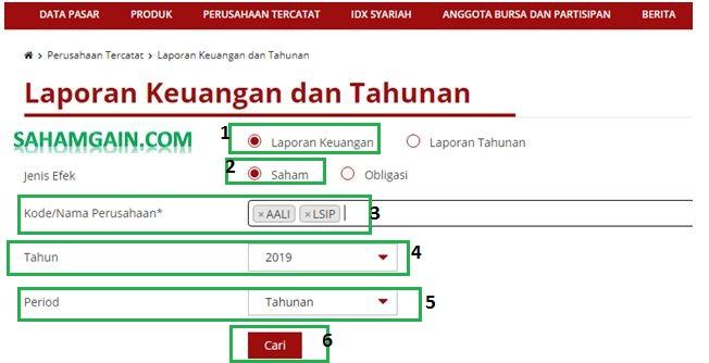 Cara Mencari Laporan Keuangan Di Idx