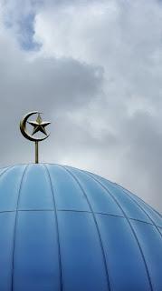 wallpaper kubah masjid tema islami