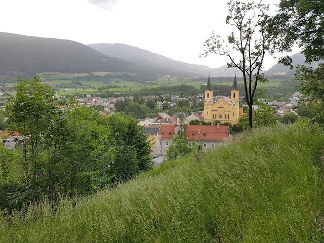 Panorama dal Castello di Brunico