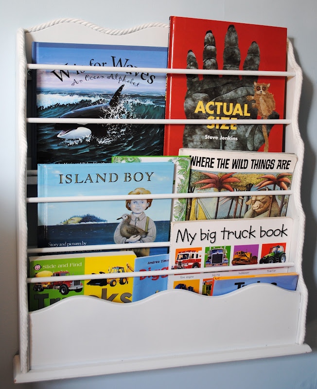 children's books face out book rack