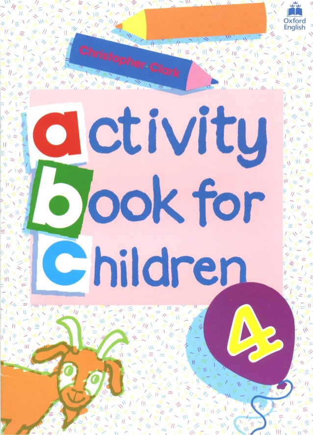 Activity Book For Children 4.