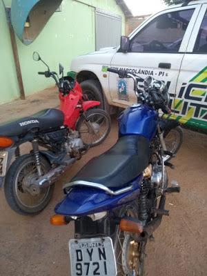 Marcolandia-Polícia Militar de Marcolândia recupera duas motocicletas roubadas