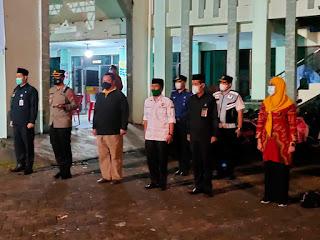 Malam Takbiran, Personel TNI-Polri dan Tim Satgas Ikuti Apel Pengamanan Idul Adha