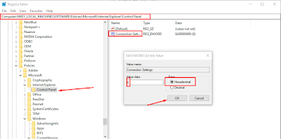 "Cara Mengatasi ""Some Settings are Managed by Your System Administrator"" pada LAN Setting"
