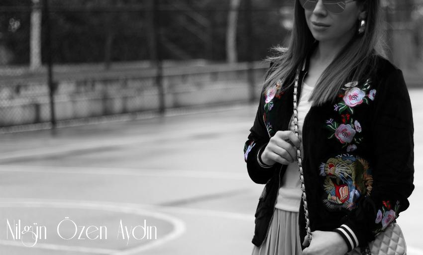 kadife ceketler-rahat günlük kombinler-pileli etekler-moda blogları