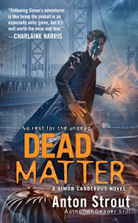 Review - Dead Waters by Anton Strout - 5 Qwills