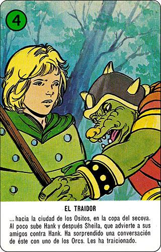 Baraja Dragones y mazmorras Heraclio Fournier Carta verde 4
