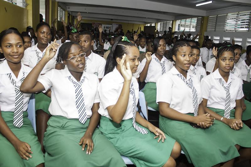 Les étudiants Jamaïcains viennent étudier au Maroc grâce à une bourse.
