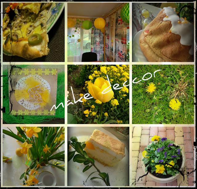 Kolor żółty- kwiecień