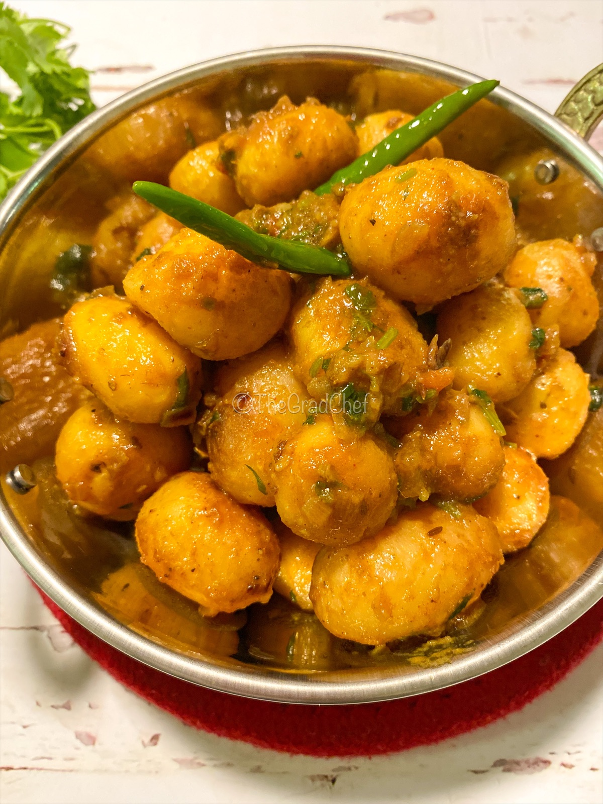 ALOOR DOM (BENGALI STYLE SPICED POTATOES)