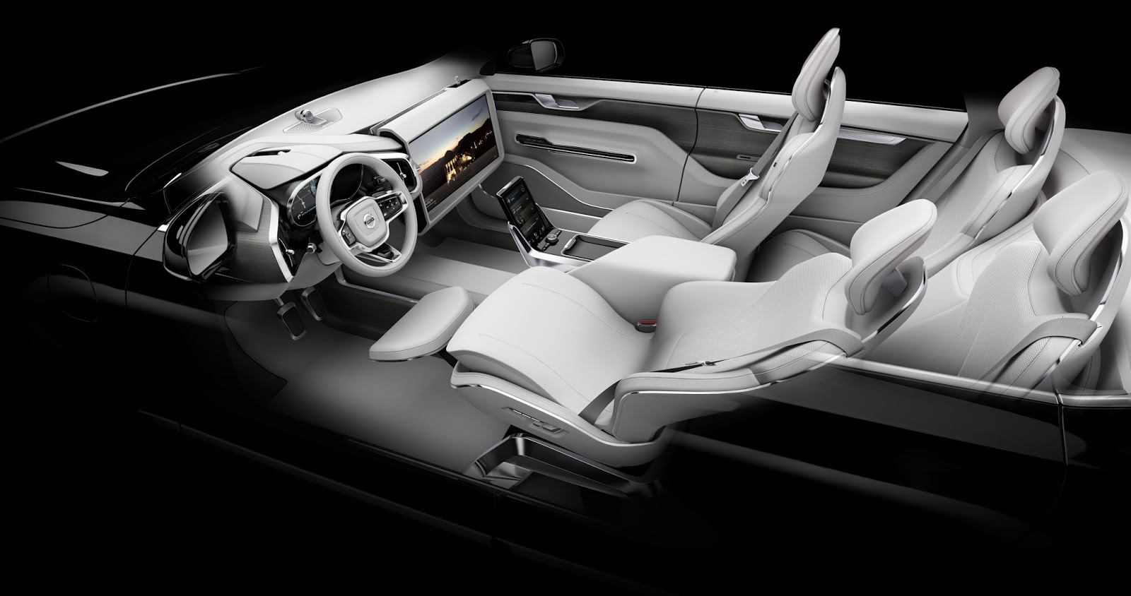 169543 Concept 26 Η Volvo θα κάνει και την αυτόνομη οδήγηση διασκεδαστική Autonomous Driving, Volvo, Volvo XC90, Αυτόνομη οδήγηση