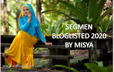 Segmen Bloglisted 2020 by Misya, Blogger, Blog, Blogger Segmen,