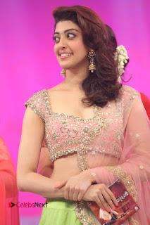 Actress Pranitha Stills in Lehenga Choli at msavam Audio Launch 0060