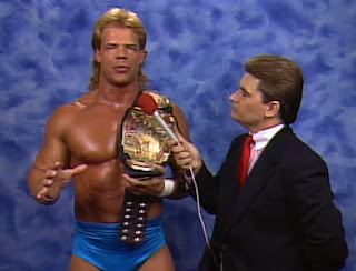 WCW Clash of the Champions XII - Tony Schiavone interviews Lex Luger