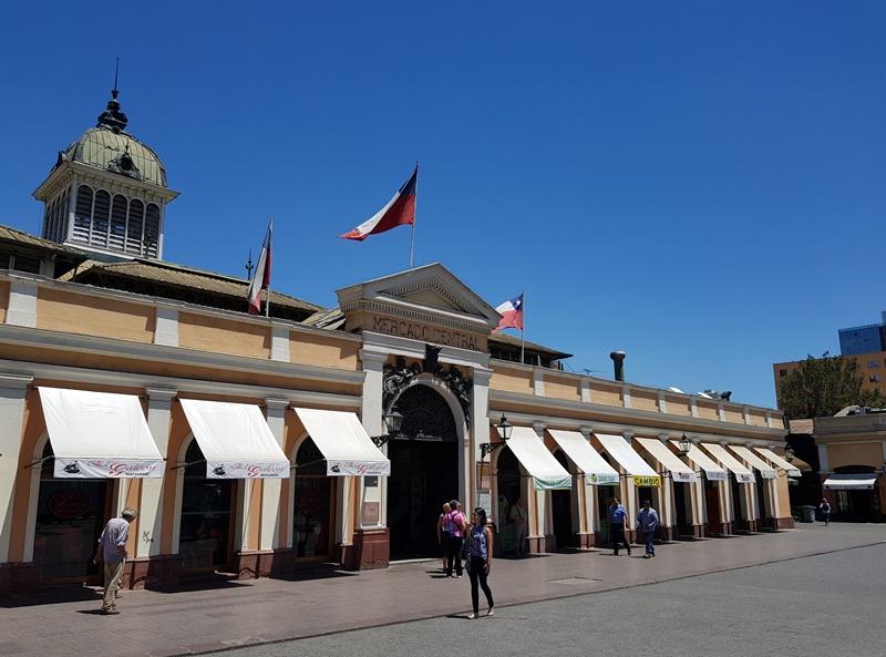 Mercado Central de Santigo