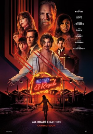 Talk Movies with Ed: BAD TIMES AT THE EL ROYALE: A Stylish