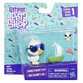 Littlest Pet Shop Series 1 Pet Pairs Blanche Pelicano (#1-87) Pet