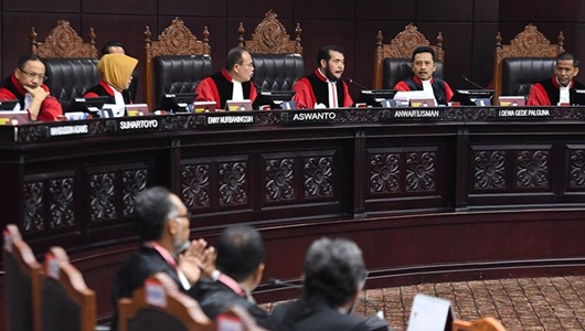 Hakim Dihina dengan Gambar Anjing, Begini Reaksi MK