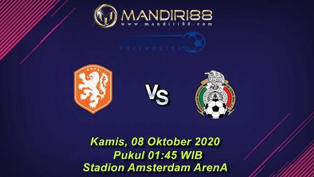 Prediksi Belanda Vs Meksiko, Kamis 08 Oktober 2020 Pukul 01.45 WIB @ Mola TV
