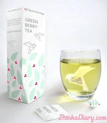 Contoh packaging: Kemasan berbentuk burung