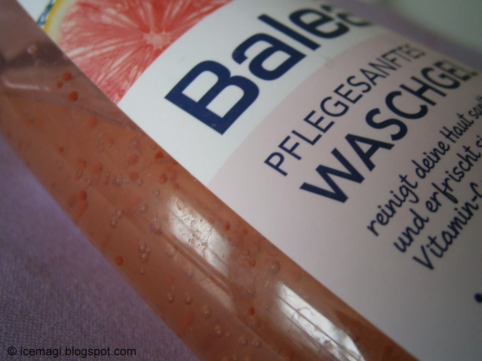 Балеа гел за лице грейпфрут