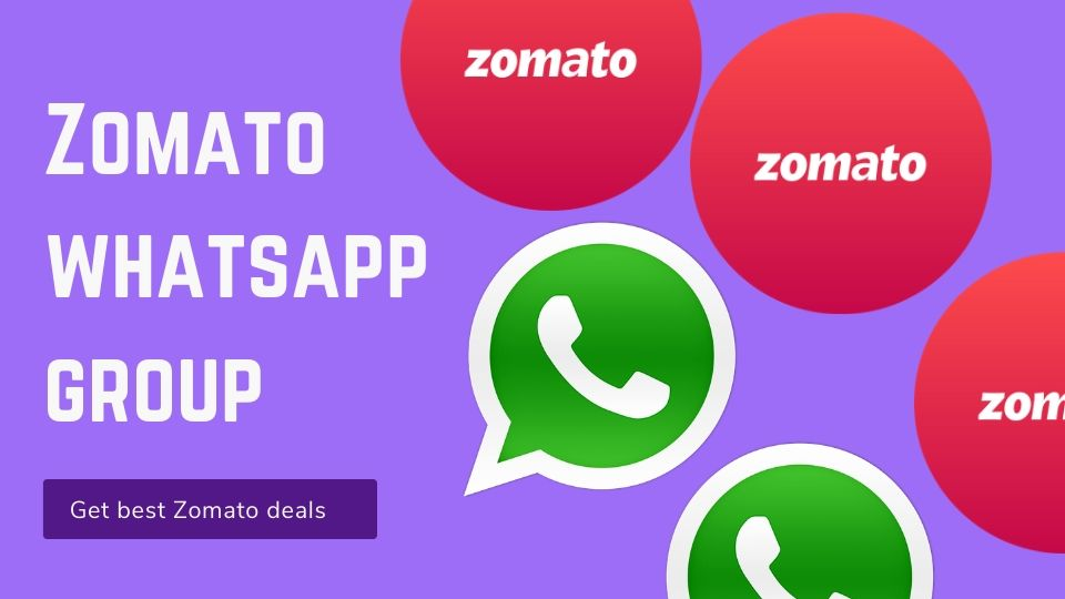 Zomato whatsapp group link