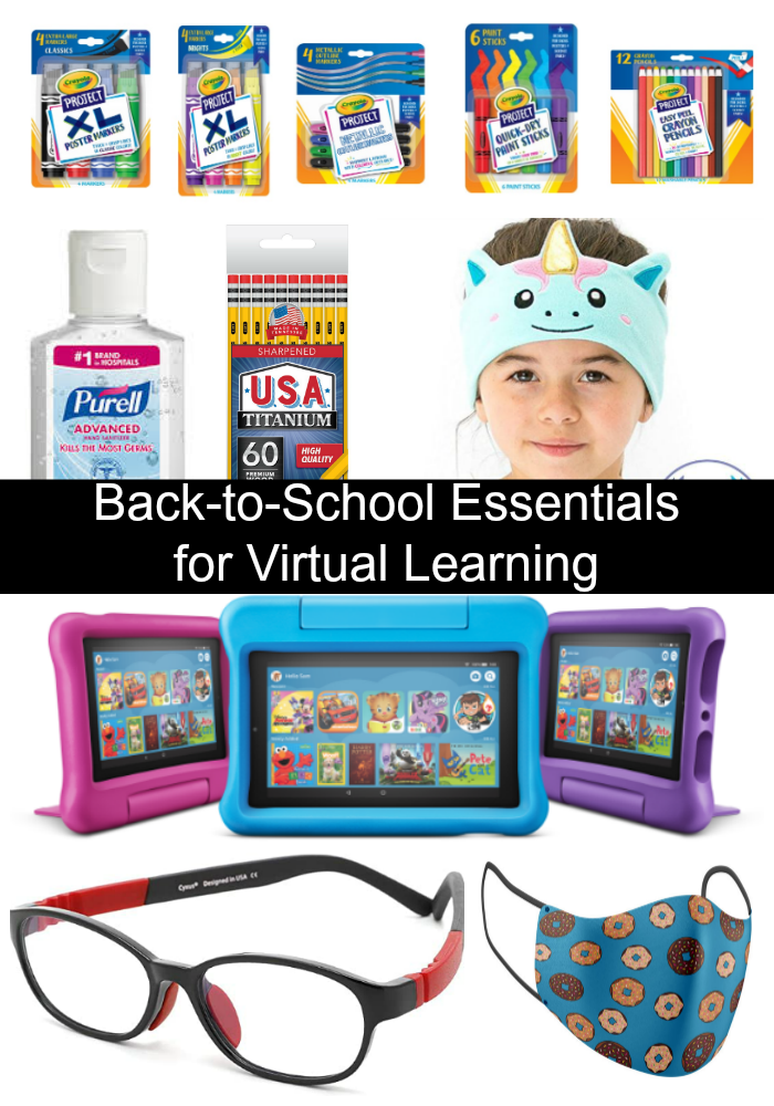 Back To School Essentials For Virtual Learning Nanny To Mommy