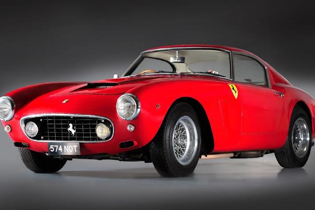 Ferrari 250 GT Berlinetta SWB 1960s Italian classic sports car
